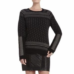 BCBGMaxAzria Reona Cashmere Wool Sweater